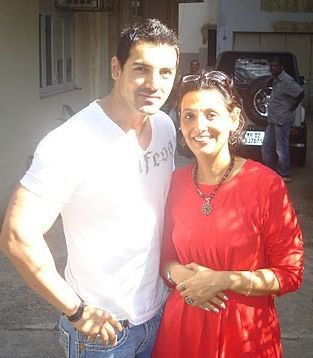Handsome Hunk John Abraham and me