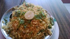 Hot delicious Kanda Poha