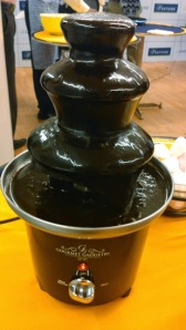 Show stopper at the event- The chocolate fountain