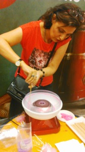 Trying my hands at Candyfloss