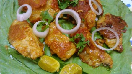 Yummy Tandoori Basa is ready