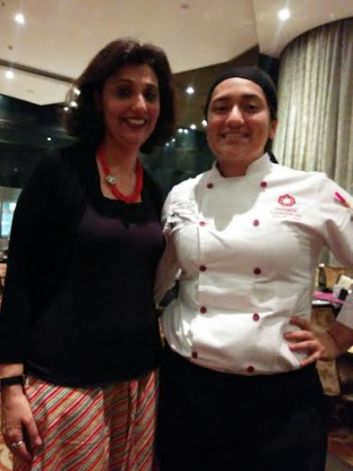 Chef Tanya Tovar loves fusion food and even tried some mexican sushi