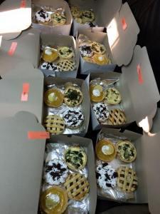 Box of goodies to take home