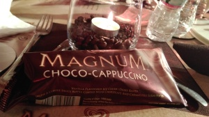 The Magnum I was waiting all evening