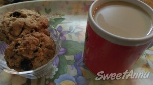 Cranberry Cookie + Coffee = YUMMY