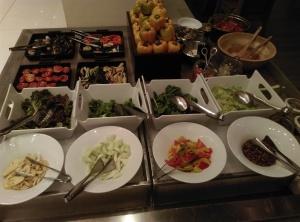 JW Marriott Mumbai buffet