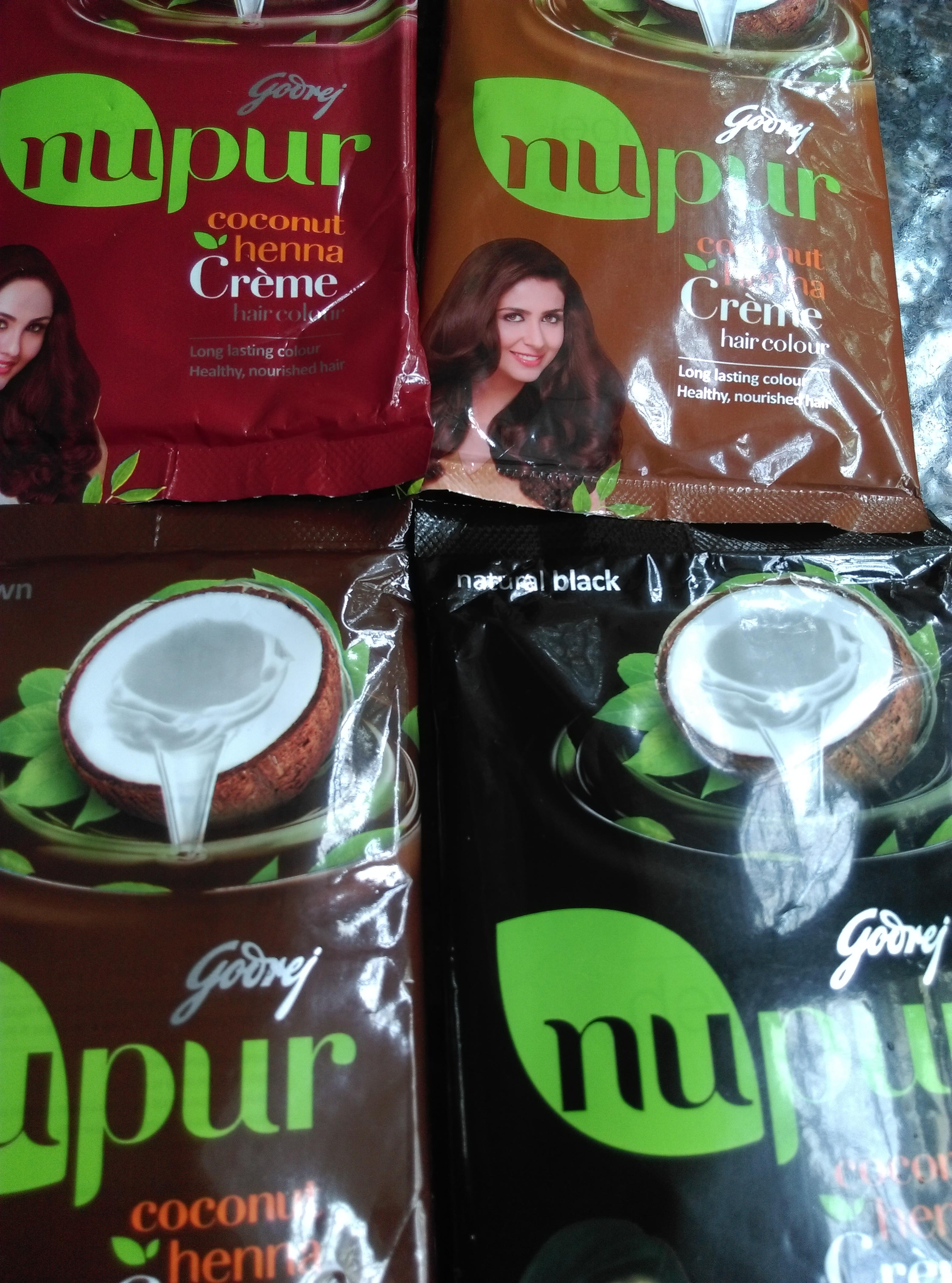 New Godrej Nupur Coconut Henna Creme Sweetannu