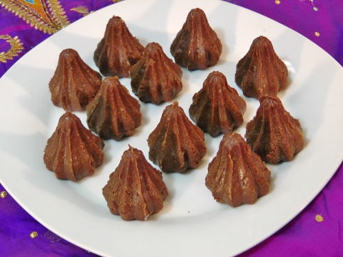 Chocolate Modak 3