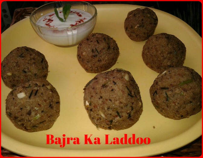 Winter Goodness – Recipe for Bajra ka Laddoo