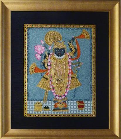 srinathji Pichwai painting
