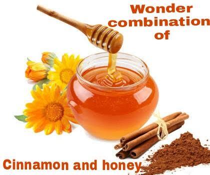 Wonder combination of Honey and Cinnamon