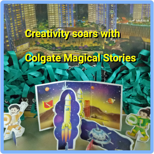 Creativity soars with Colgate Magical Stories